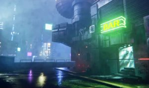 dreams-player-creates-stunning-cyberpunk-2077-inspired-scene-in-just-2-hours