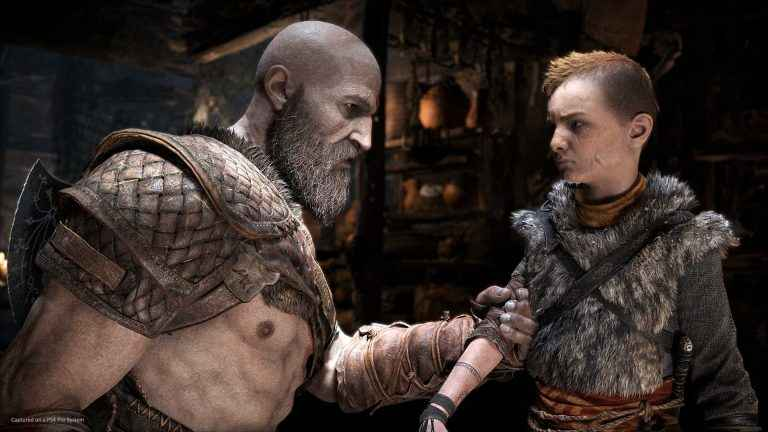 God Of War On Disc Without Patches Allows For 60 FPS