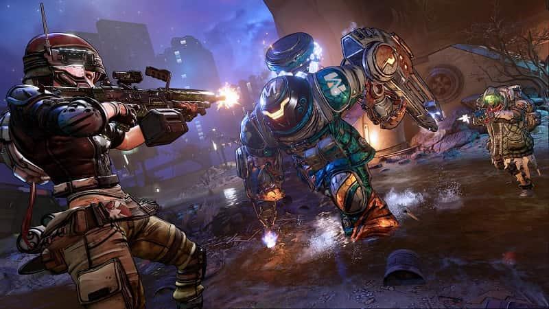 Best PS5 Split Screen Games Borderlands 3