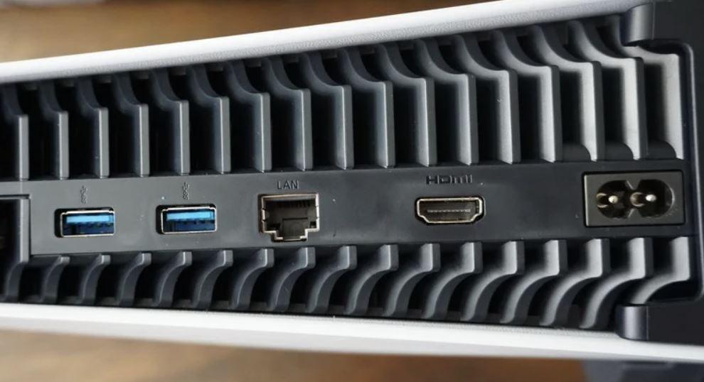PS5 USB Ports