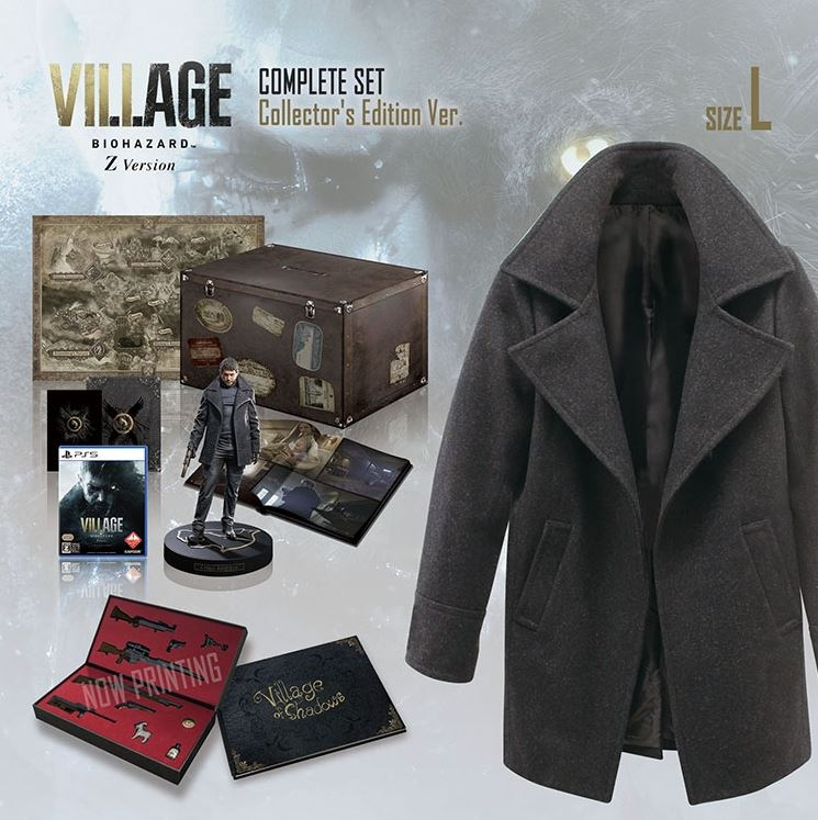 resident-evil-village-collectors-edition-only-available-in-japan-comes-with-chris-jacket-and-costs-more-than-1800