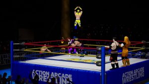 Action Arcade Wrestling PS4 release