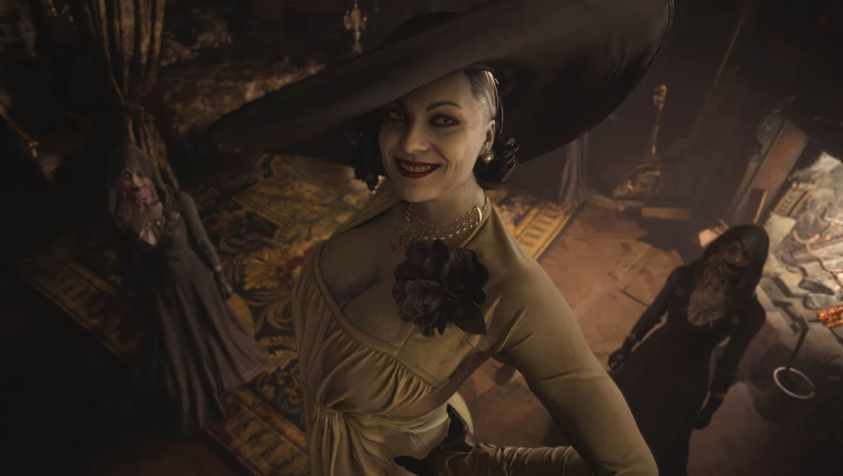 capcom-confirms-resident-evil-villages-lady-dimitrescu-height-is-2-9-meters-9-foot-6-inches-tall