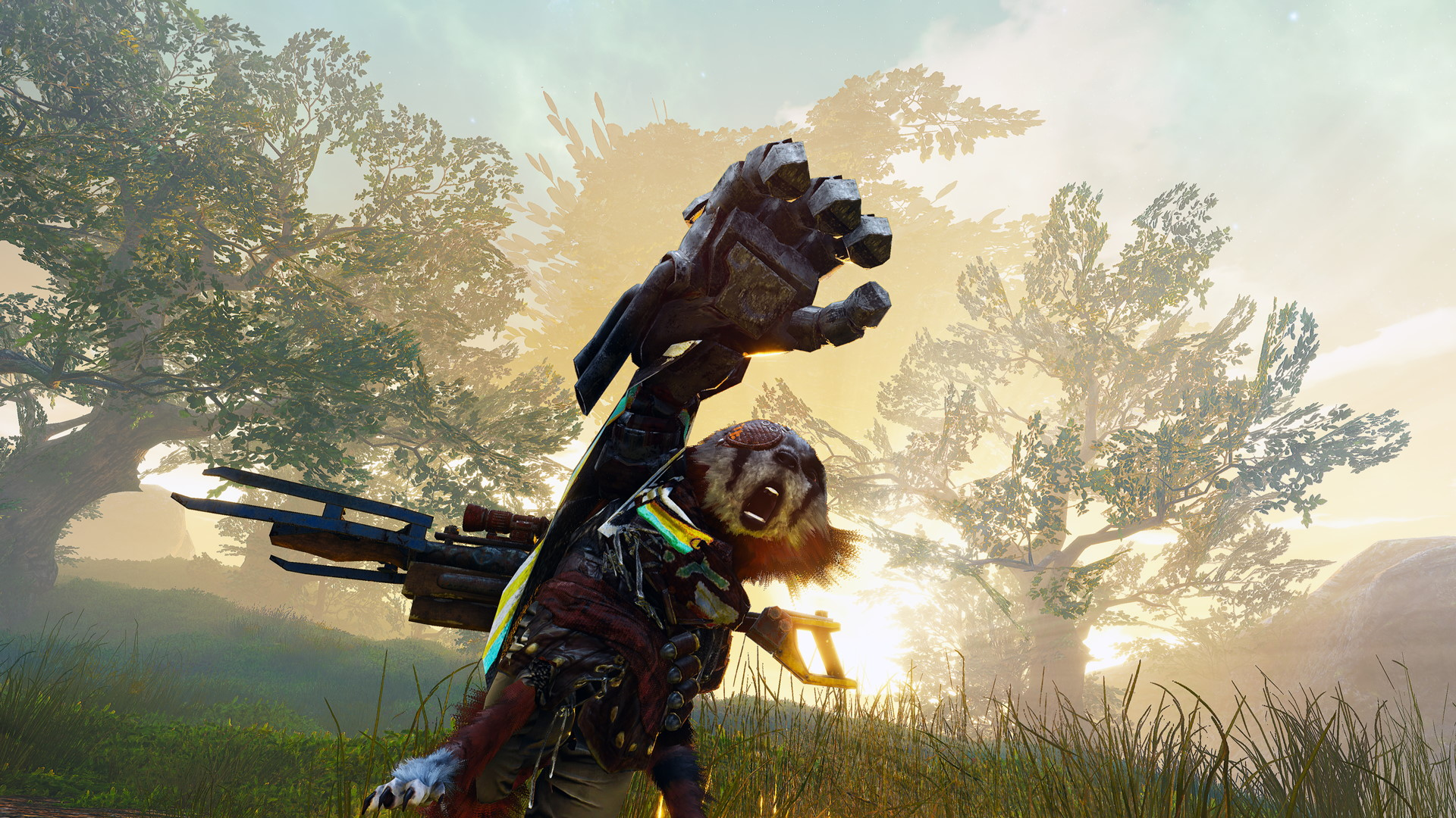Biomutant - PS4 - Wallpapers - 1920x1080