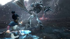 Kena Bridge of Spirits PS4 PS5 Gameplay
