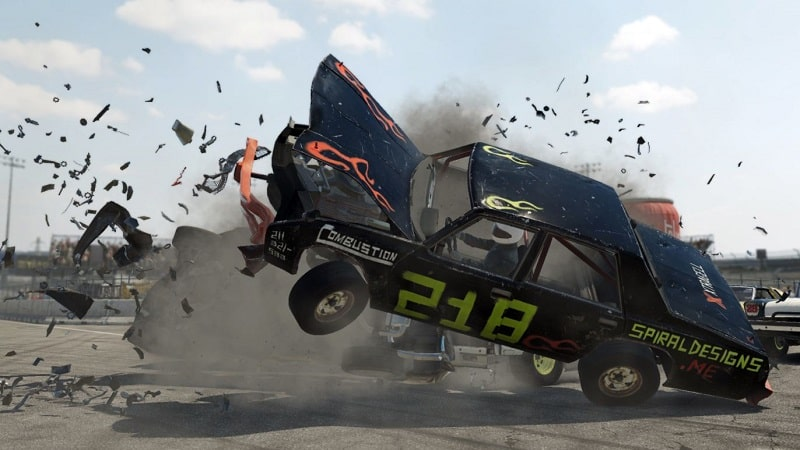 All Free PS5 PS Plus Games In 2021 Wreckfest