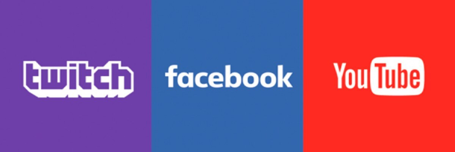 Stream Games - Twitch, Youtube, Facebook - PSP 5G