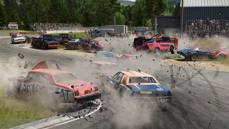 best ps5 racing games wreckfest