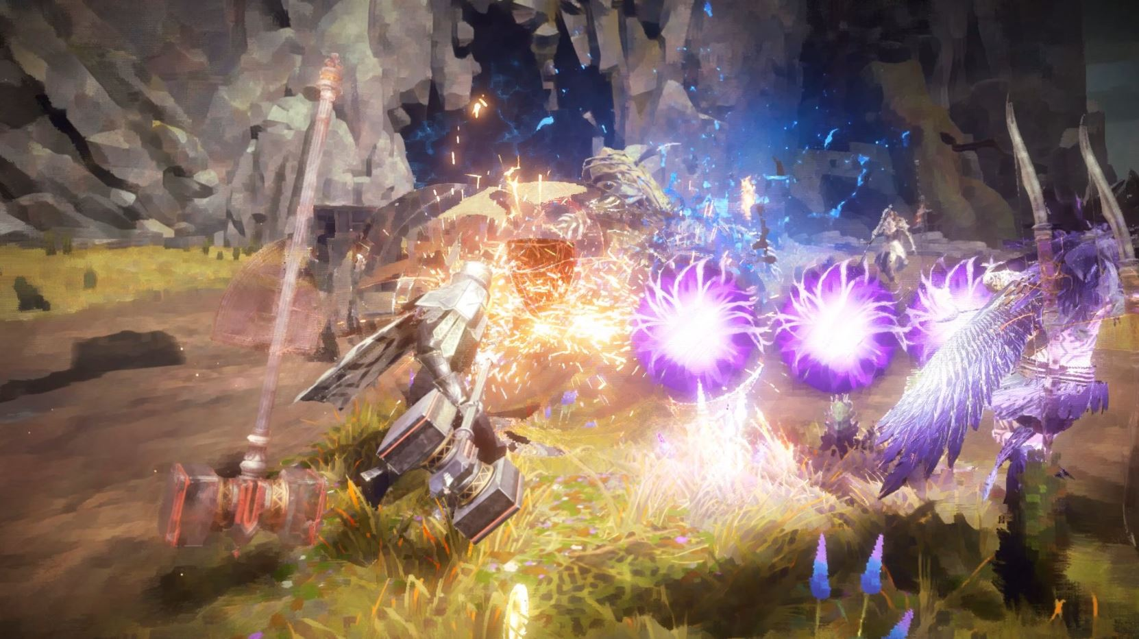Babylon's Fall Direct Feed Screenshots Don't Look A Whole Lot Better Than The Gameplay