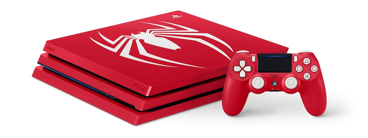 Amazing Red - Marvel's Spider-Man Limited Edition PS4 Pro Bundle